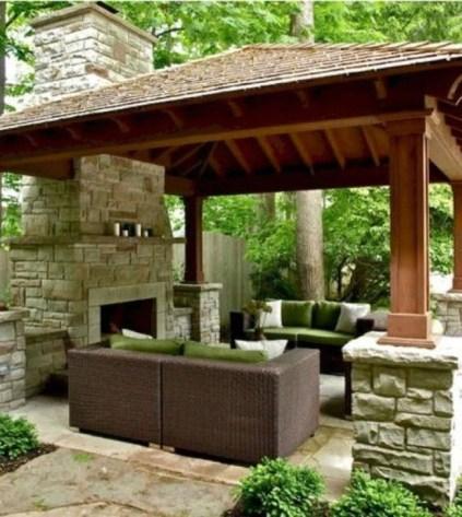 Cozy Gazebo Design Ideas For Your Backyard 46