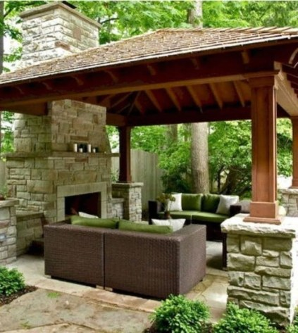 Cozy Gazebo Design Ideas For Your Backyard 46