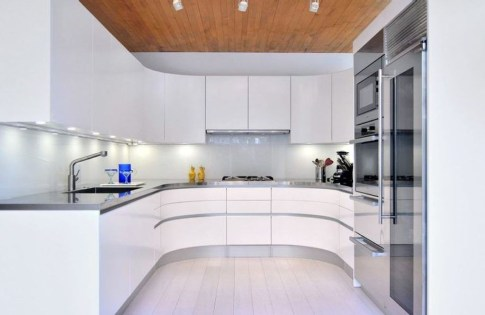 Creative U Shaped Kitchen Remodel Ideas 51
