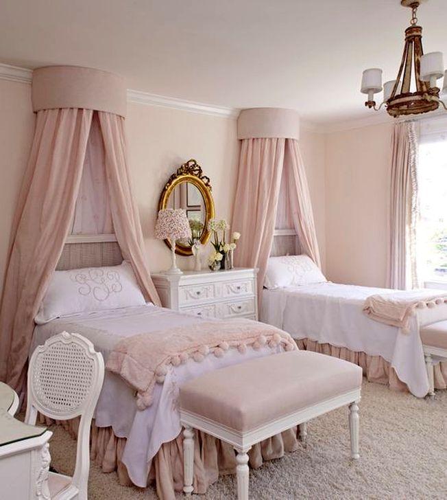 Cute Pink Bedroom Design Ideas 11