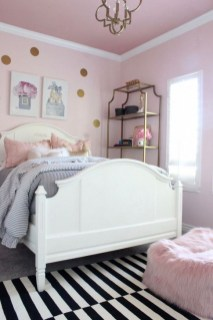 Cute Pink Bedroom Design Ideas 24