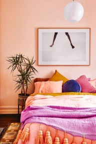 Cute Pink Bedroom Design Ideas 30