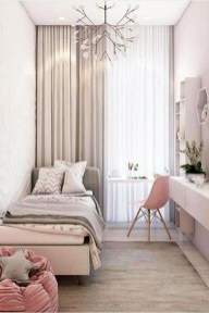 Cute Pink Bedroom Design Ideas 32