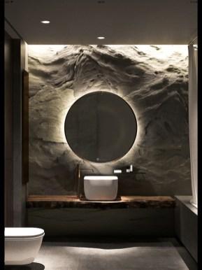 Dreamy Bathroom Lighting Design For Your Home 06