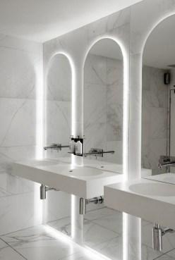 Dreamy Bathroom Lighting Design For Your Home 27