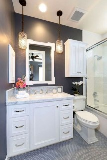 Dreamy Bathroom Lighting Design For Your Home 46