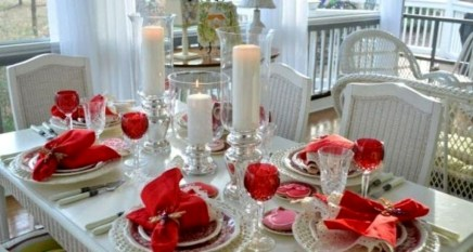 Elegant Table Settings Ideas For Valentines Day 12