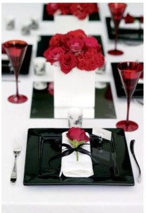 Elegant Table Settings Ideas For Valentines Day 19