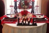Elegant Table Settings Ideas For Valentines Day 49