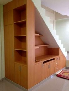 Genius Storage Ideas For Under Stairs 34