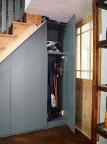 Genius Storage Ideas For Under Stairs 44