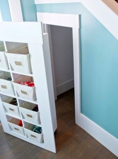 Genius Storage Ideas For Under Stairs 48