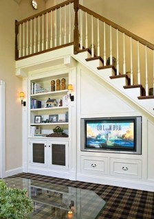 Genius Storage Ideas For Under Stairs 50