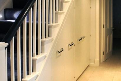 Genius Storage Ideas For Under Stairs 54