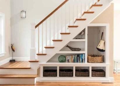 Genius Storage Ideas For Under Stairs 56
