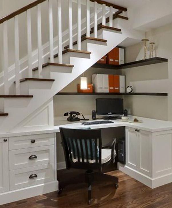 Genius Storage Ideas For Under Stairs 57