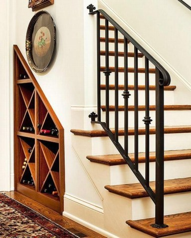 Genius Storage Ideas For Under Stairs 60