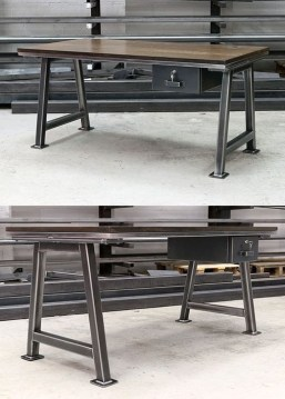 Modern And Unique Industrial Table Design Ideas 16