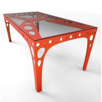 Modern And Unique Industrial Table Design Ideas 17