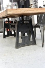 Modern And Unique Industrial Table Design Ideas 37