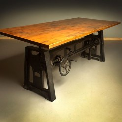 Modern And Unique Industrial Table Design Ideas 44