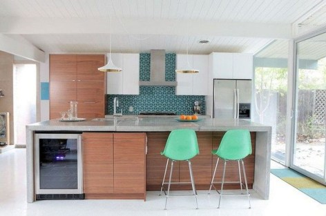 Modern Mid Century Kitchen Design Ideas For Inspiration 30