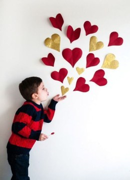 Simple DIY Valentines Day Decor Ideas 16