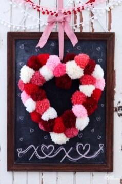 Simple DIY Valentines Day Decor Ideas 17
