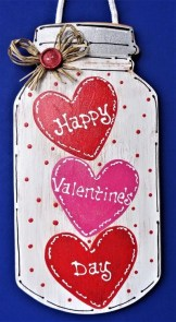 Simple DIY Valentines Day Decor Ideas 22