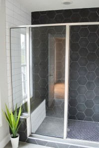 The Best Ideas Black Shower Tiles Design 05