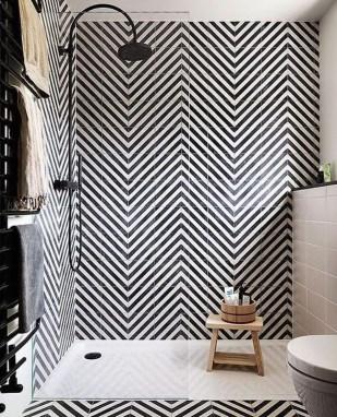 The Best Ideas Black Shower Tiles Design 15