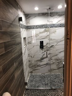 The Best Ideas Black Shower Tiles Design 22