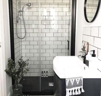 The Best Ideas Black Shower Tiles Design 25