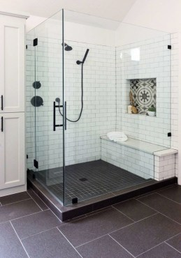 The Best Ideas Black Shower Tiles Design 32