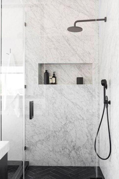 The Best Ideas Black Shower Tiles Design 41