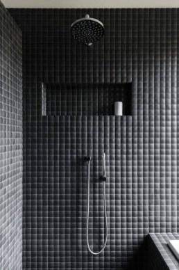 The Best Ideas Black Shower Tiles Design 43