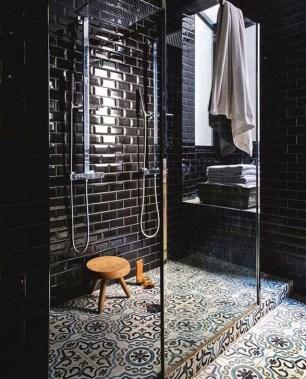 The Best Ideas Black Shower Tiles Design 45
