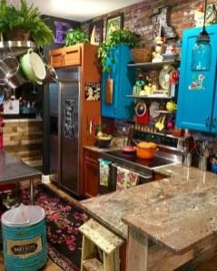 Unique And Colorful Kitchen Design Ideas 02