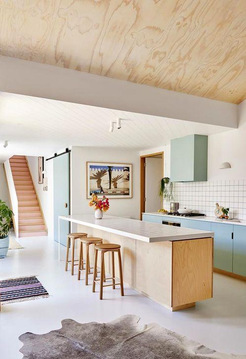 Unique And Colorful Kitchen Design Ideas 25