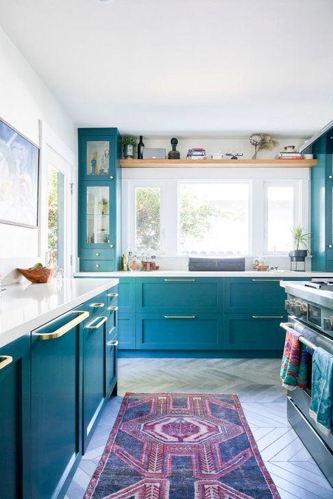 Unique And Colorful Kitchen Design Ideas 27