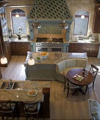 Unique And Colorful Kitchen Design Ideas 33