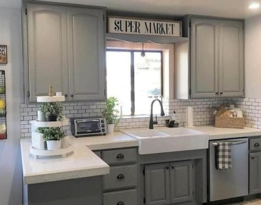 Affordable Farmhouse Kitchen Cabinets Ideas 09