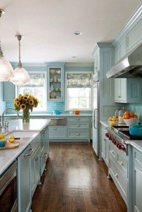 Affordable Farmhouse Kitchen Cabinets Ideas 41