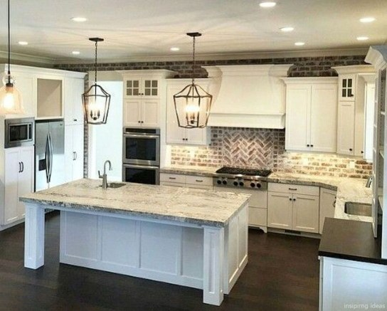 Affordable Farmhouse Kitchen Cabinets Ideas 43