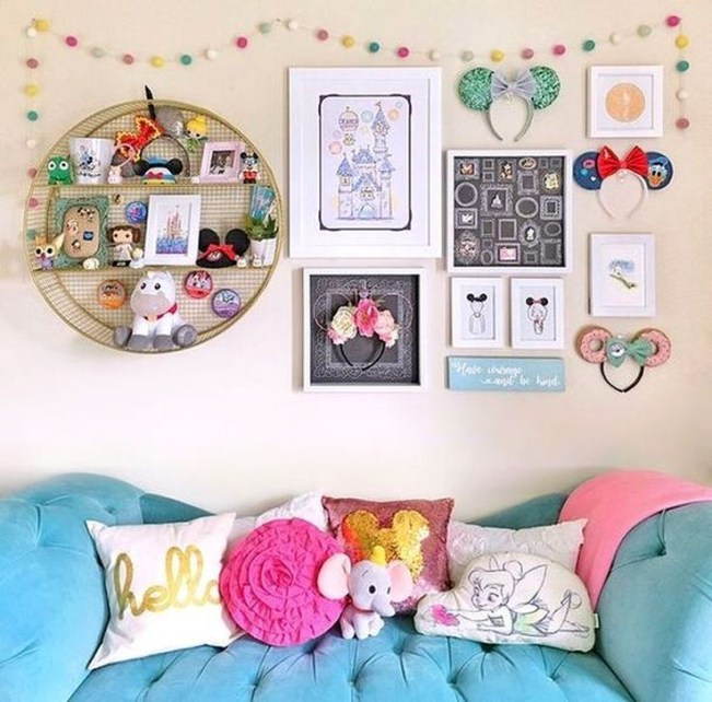 Awesome Disney Bedroom Design Ideas For Your Children 14