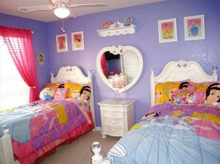 Awesome Disney Bedroom Design Ideas For Your Children 32