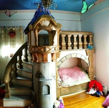 Awesome Disney Bedroom Design Ideas For Your Children 36