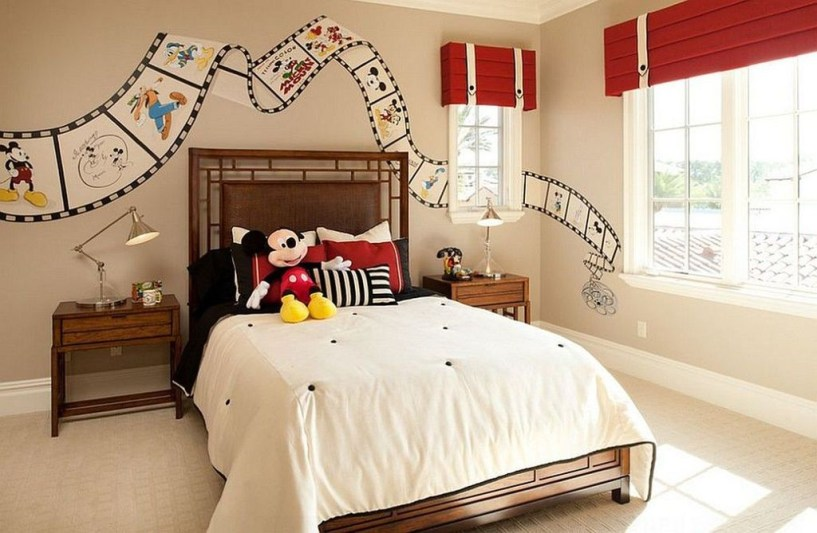 Awesome Disney Bedroom Design Ideas For Your Children 46