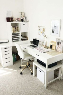 Brilliant Home Office Decoration Ideas 07