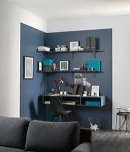 Brilliant Home Office Decoration Ideas 11